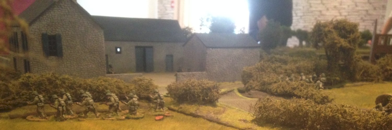 Ham and Jam buildings in a Normandy game
